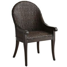 Indah Dining Chair - Chestnut Brown