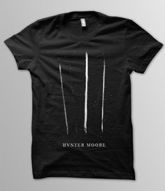 Hunter Moore shirts,cocaine,lines