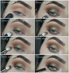 NIKOL HESS : Tutorial: Warm Green Smokey Eyes with Zoeva Cocoa Blend Zoeva Cocoa Blend, Eye Makeup, Hair Makeup, Green Smokey Eye, Makeup For Green Eyes, Makati, Makeup Tutorials, Cosplay Ideas, Eye Color