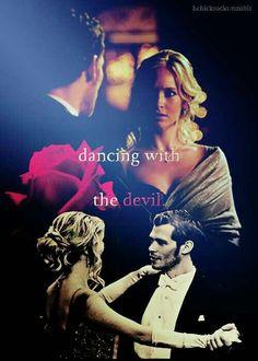 The Vampire Diaries - Klaus and Caroline