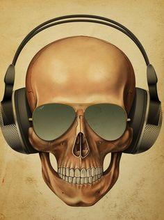 ☆ Skull DJ.。Art By :→: RUSS ☆