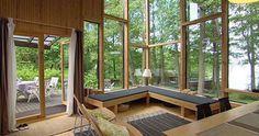 Summercabin in Finland by architect Matti Sanaksenaho.