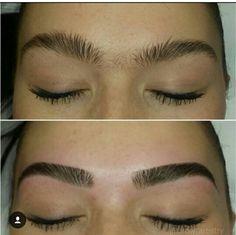 Eyebrows Sketch, Mircoblading Eyebrows, Eyebrows Goals, Arched Eyebrows, Threading Eyebrows, Eyelashes, Thick Eyebrow Shapes, Perfect Eyebrow Shape, Thick Brows
