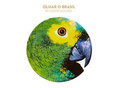 Olhar o Brasil by Chicô Gouvêa | Parrot Charger Plate