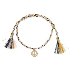 Chloé Girls Glittery Bracelet with Charm at Childrensalon.com