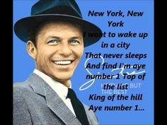 #NINEELEVEN Frank Sinatra - New York New York Song **Lyrics** [HD]