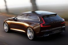 Volvo will use next week's Geneva Motor Show to reveal the third in a series of concept cars – the Concept Estate. The concept offers hints at what a future station wagon could look like. Volvo Wagon, Volvo Coupe, Volvo Cars, Volvo Estate, Diesel, Auto Motor Sport, Shooting Brake, Volvo Xc90, Geneva Motor Show