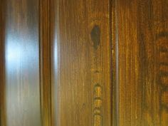 DIY  video on how to use a woodgrain rocker to make realistic wood grain texture.