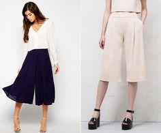 DIY Pantalon Culotte, Â¡Tutorial y patrones gratis!