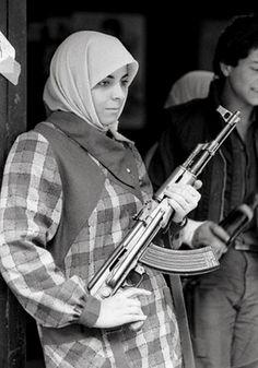 z- Sunni Mourabioun Soldier- Beirut, Lebanon, 1984