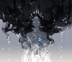 Dark Fantasy Art, Fantasy Artwork, 5 Anime, Arte Sketchbook, Anime Art Girl, Dark Anime Art, Pretty Art, Character Design Inspiration, Aesthetic Art