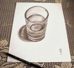 optical illusion drawings on lined paper - Google Search | Drawing ...