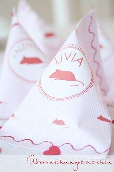 Überraschungstüten nähen - tolle Idee für den nächsten Kindergeburtstag!