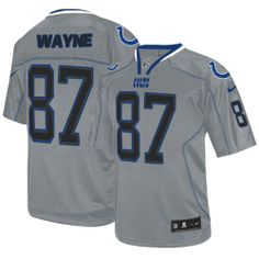 NFL Jersey's Nike Reggie Wayne Indianapolis Colts Youth Alternate Jersey - White