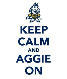Hang in there, Aggies!