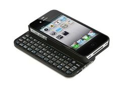 iPhone 4/4s Case with Keyboard. I would buy the iphone if it had this!