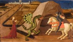 Saint George and the Dragon, 1430-35. Jacquemart-Ándre Museum. Chapter 3