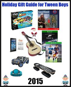 @HavingFunSaving Holiday Gift Guide For Tween Boys My son is 10, well, he will be 11 in January and I have found that he is very hard to buy for this year! In fact, tweens