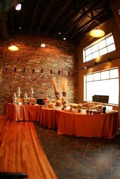 orange wedding reception pictures | Events@1418 Venue Orange Reception Decor | Nashville Wedding Guide for ...