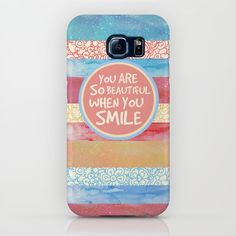 When You Smile iPhone & iPod Case