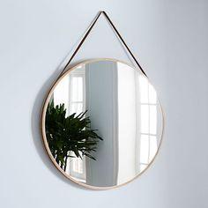 Modern Hanging Mirror - Oversized #westelm