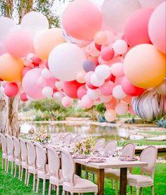 #balloongarland #balloondecor #partyideas