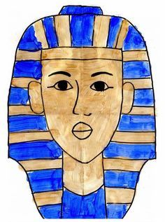 For M& fascination with Egypt and mummies phase. Art Projects for Kids: How to Draw King Tut Ancient Art, Ancient History, Art History, Classe D'art, 6th Grade Art, Egypt Art, Middle School Art, Art Classroom, Art Plastique
