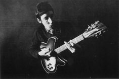Pete Townshend who reclaimed the electric 12 string from folk rock to hard rock. Have a listen to I Can't Explain or The Kids Are Alright, that's all on a Ric 12