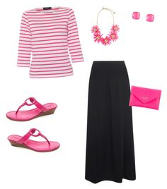 """""""Untitled #93"""" by caitlin-ross-1 on Polyvore featuring Saint James, Oska, Bernardo and Kate Spade"""