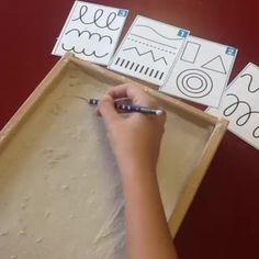 30 Montessori activities for toddlers - Preschool - Aluno On Motor Skills Activities, Montessori Activities, Writing Activities, Fine Motor Skills, Preschool Activities, Play Based Learning, Preschool Learning, Learning Centers, Toddler Preschool