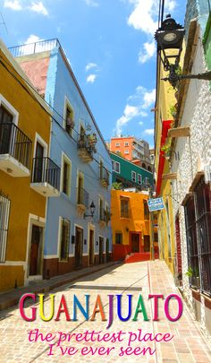 Close to San Miguel de Allende, Guanajuato is a UNESCO World Heritage Site that most travellers have never heard of. I've been here twice and it's still the prettiest place I've ever been. More: http://bbqboy.net/guanajuato-mexico-prettiest-town-ive-ever/ #guanajuato #mexico