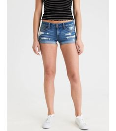 94988398 Ae Shorts Blue Jean Shorts, Denim Shorts, Mens Outfitters, College Outfits,  Ae