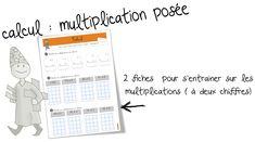 La multiplication posée : exercices | Bout de Gomme