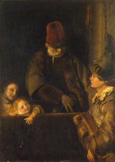 The Athenaeum - Wandering Musician (Aert de Gelder - ) Dutch Golden Age, Catherine The Great, Hermitage Museum, Peter Paul Rubens, Brown Art, Dutch Painters, Rembrandt, Art Museum, Fur