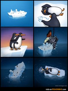 Funny pictures about Titanic: the untold story. Oh, and cool pics about Titanic: the untold story. Also, Titanic: the untold story. Stupid Funny Memes, Funny Cute, Hilarious, Tv Funny, Funny Stuff, Cute Comics, Funny Comics, Memes Humor, Hilarious Memes