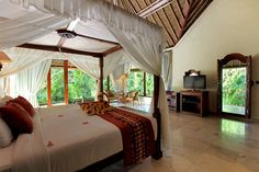 Santi Mandala Villa & Spa Ubud Hotels, Gazebo, Bali, Mandala, Villa, Spa, Outdoor Structures, Bedroom, Interior