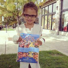 Even REY likes eeboo's Halloween Chain!  #thanksforvisitingusrey #eebooalwaysgood #thechildrenshourslc @eebooalwaysgood @kera_thompson || The Children's Hour Bookstore & Boutique || Clothing  Gifts  Shoes || 898 South 900 East || Salt Lake City Utah || 801.359.4150 || childrenshourbookstore.com