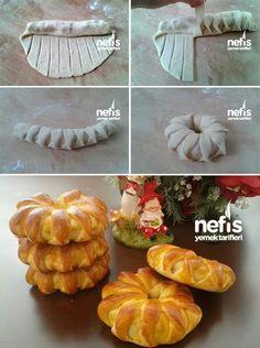 Technique de façonnage pains ou brioches fourrés