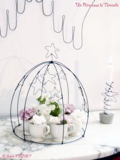 wire art - créations en fil de fer by Un Rire sous la Tonnelle © Sonia FIQUET