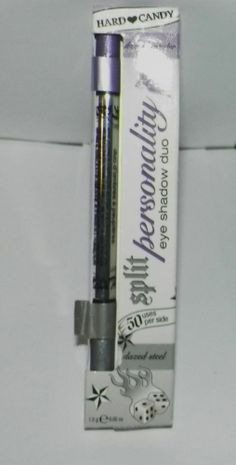 032 Number Eye Shadow Duo Lavender/Silver Hard Candy New Split Personality