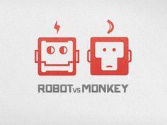 Logo Design: More Robots | Abduzeedo Design Inspiration