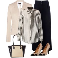 Work Outfit 18.7.16 by alpate on Polyvore featuring moda, Michelle Mason, Joseph, Être Cécile, Office and Charles Jourdan