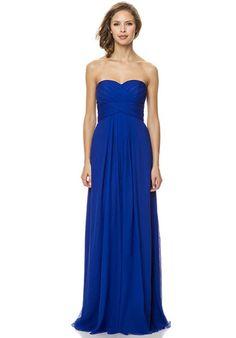 Slight Sweetheart Dress with Criss-Cross Detail | Bari Jay Bridesmaids 1467 | http://trib.al/tdT43cQ
