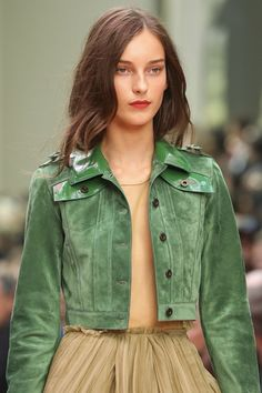 Suede fashion trend 2015 - Spring/summer (Vogue.co.uk)