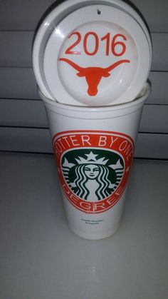 Check out this item in my Etsy shop https://www.etsy.com/listing/279957100/graduation-starbucks-cups