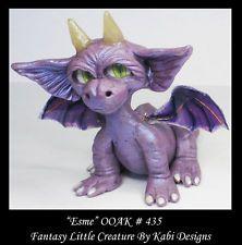 Dragon Fantasy Miniature DollHouse Art Doll Polymer Clay CDHM OOAK IADR Esme