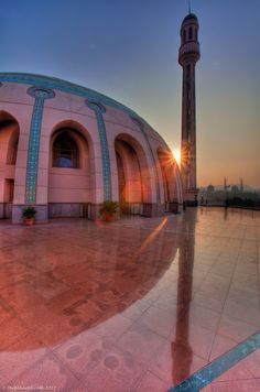 Sunrise over an abandoned mosque in Cairo, Egypt - Photo © theplanetd.com  | #Photography #Places #Egypt |