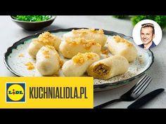 KARTACZE Z MIĘSEM 🍠   Karol Okrasa & Kuchnia Lidla - YouTube Lidl, Recipies, Dairy, Cheese, Chicken, Meat, Food, Youtube, Dinners