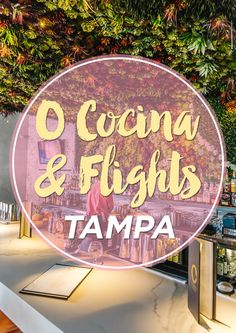 I've become a brunch junkie lately and trying out all the hip restaurants around Tampa on the weekends. I usually like to check out places that have a cool vibe or something unique and O Cocina & Flights definitely fits that category.