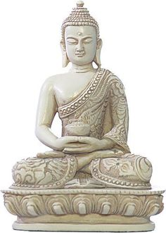 """Nepali Buddha in Meditation Pose Statue....I have this one in my """"Glam Room"""" here at Robbin's Lair."""